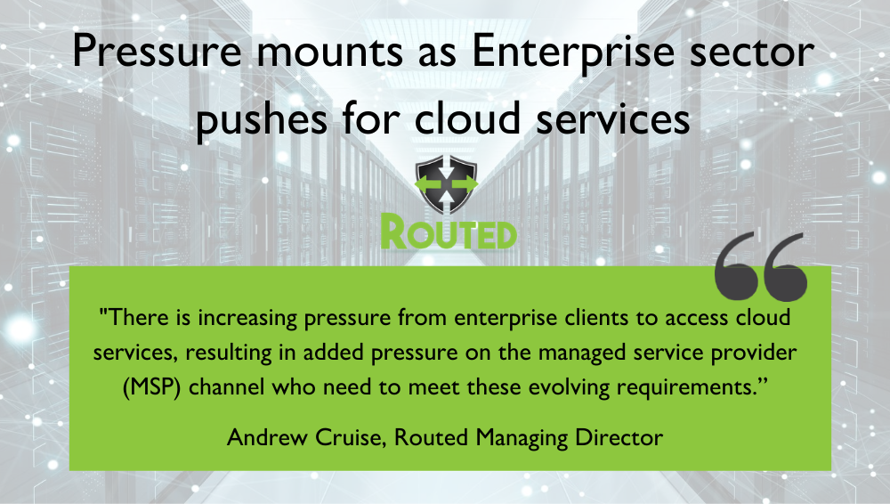Pressure mounts as Enterprise sector pushes for cloud services